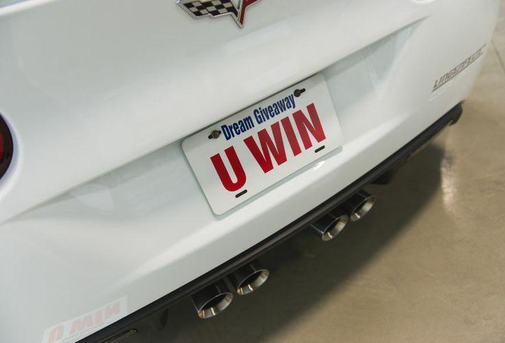 Imagine if U Won not one but two Corvettes?