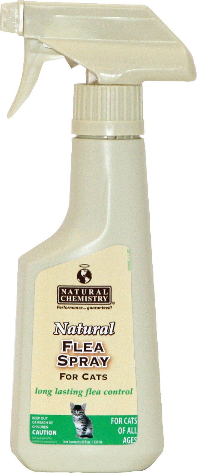 Natural Chemistry D-Natural Flea & Tick Spray For Cats 8 Ounce