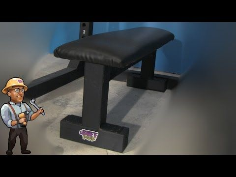 How to Build a Gym BENCH - DIY DUDES - YouTube