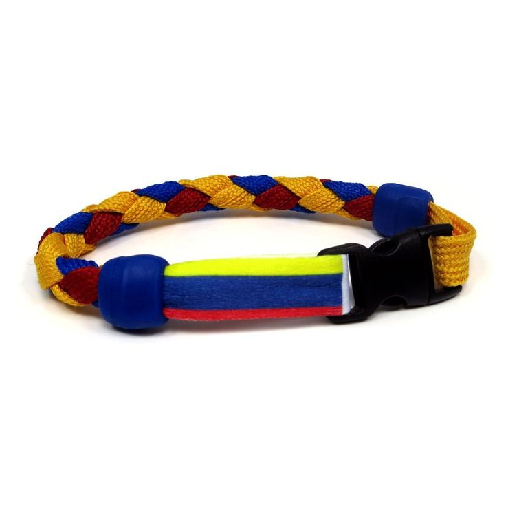 Colombia Soccer Nations Bracelet by Swannys