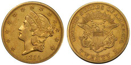 1854 Liberty Head ☆ Více informací o výstavě Flowing Hair naleznete na oficiální stránce http://www.flowing-hair.cz/