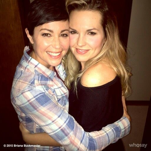 Briana Buckmaster & Kim Rhodes-- I love these two with all my heart!