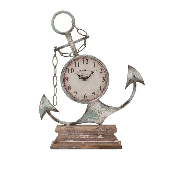 Anchor Clock