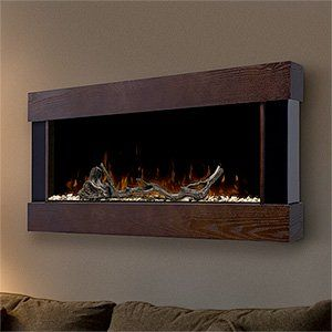 Dimplex Chalet Linear Wall Mount Electric Fireplace - DWF1204