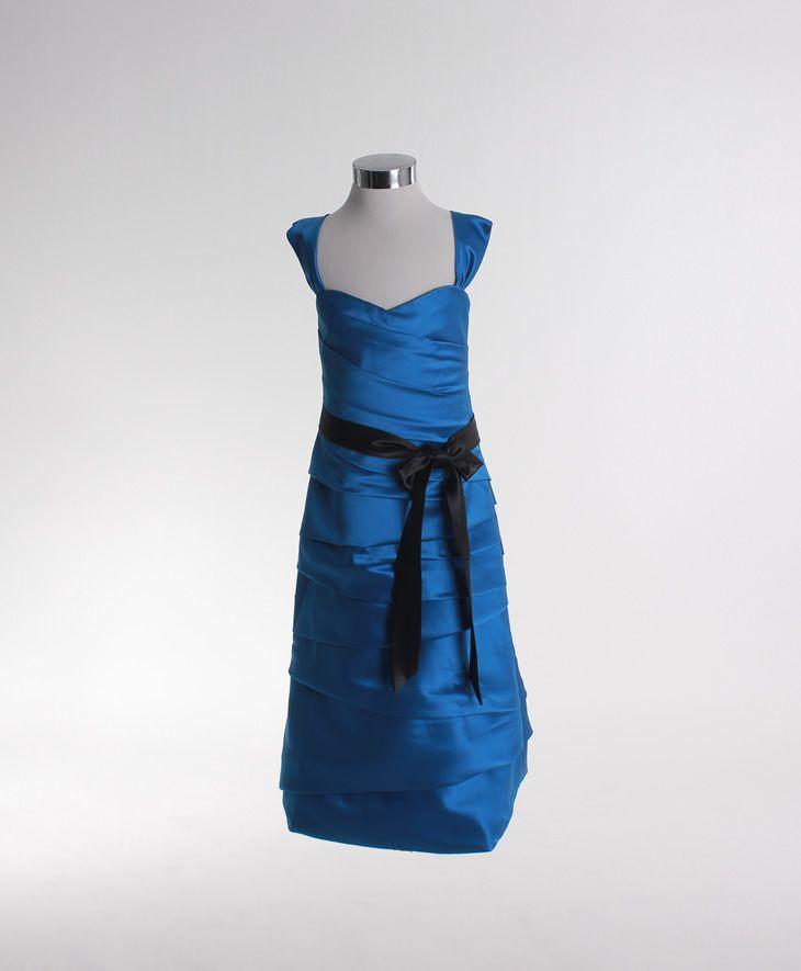 Spaghetti straps trumpet / mermaid satin bridesmaid dress,bridalgowns,bridesmaid gowns dress