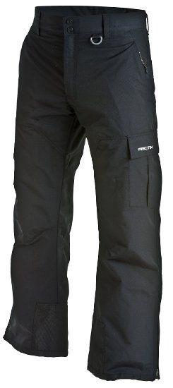 Arctix Men's Mountain Snowboard Shell Cargo Pants, Small, Black