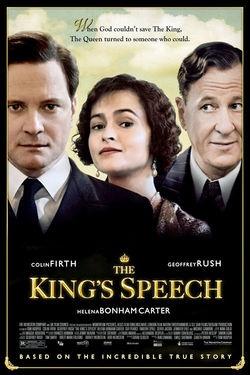 The King's Speech - Nov. 2010
