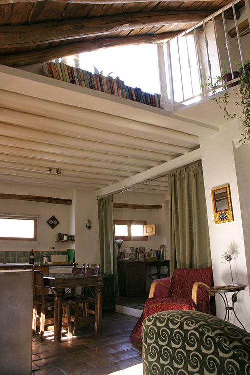 Casa Esquina open plan living in Alhama de Granada Andalucia