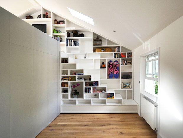 Camden loft - scala con scaffalature - Articolo di AtCasa.it