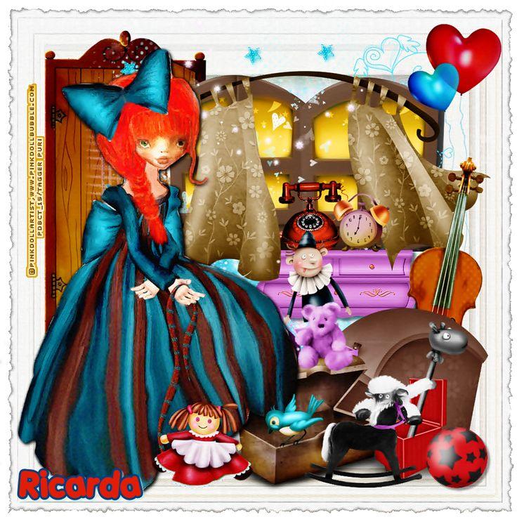 """MI RINCÓN GÓTICO: CT Pink.Doll.Bubble, """"Theodora"""""""
