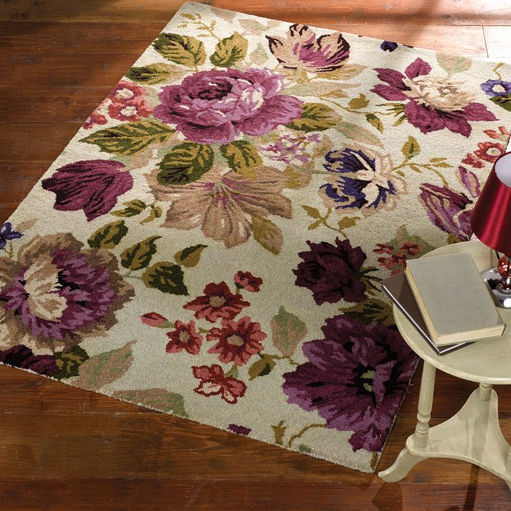 Florine Rugs Offer An Artistic Floral Designs In A Selection Of  Contemporary Colours. #DecorTips