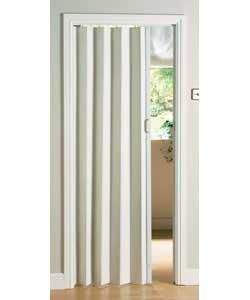 White Oak Effect Folding Door. Argus £13