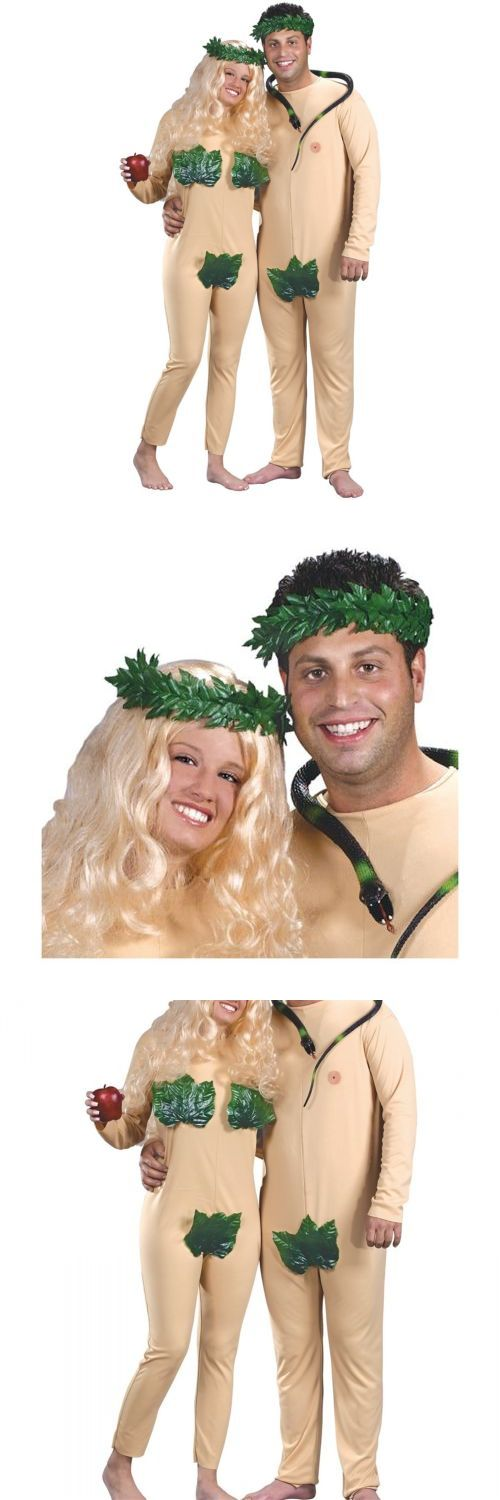 Halloween Costumes Couples: Adam And Eve Couples Costumes Adult Funny Halloween Fancy Dress - You Get Both! -> BUY IT NOW ONLY: $29.49 on eBay!