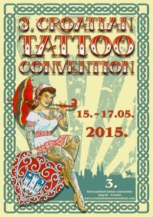 Croate Tattoo Convention 15 mai au 17 mai 2015