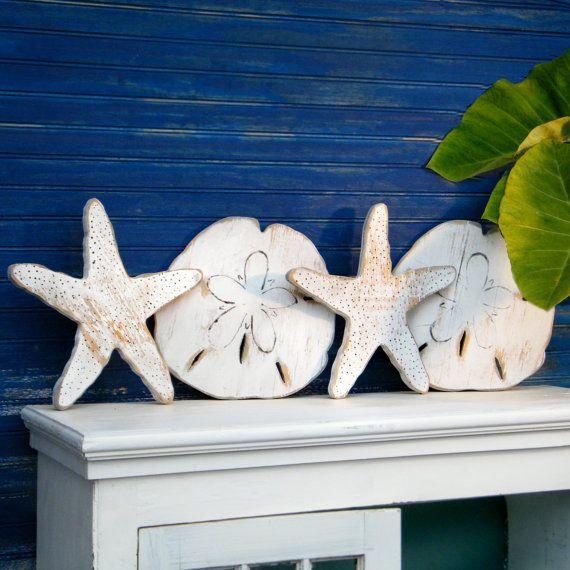 Salty Hugs and Kisses Set XOXO Beach Sand Dollar Starfish