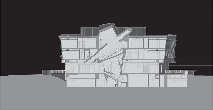 Morphosis Architects Drawings on 41 orthographic drawings