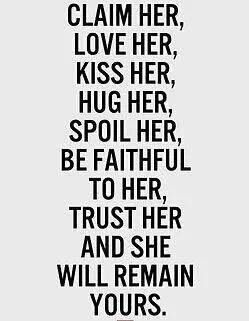 This is the way to a woman's heart. The way to keep a good woman like glue. When a man treats her this good. She'd be a fool to go elsewhere. Love her like she's leaving. She never will.