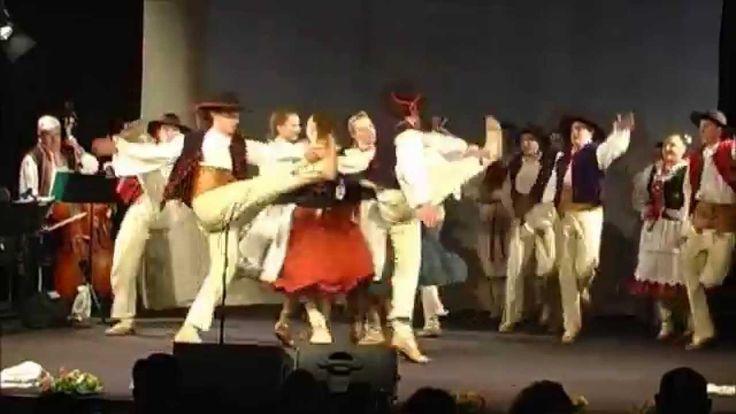 Zespół Pieśni i Tańca Wałbrzych Na Góralską nutę Beskid Żywiecki
