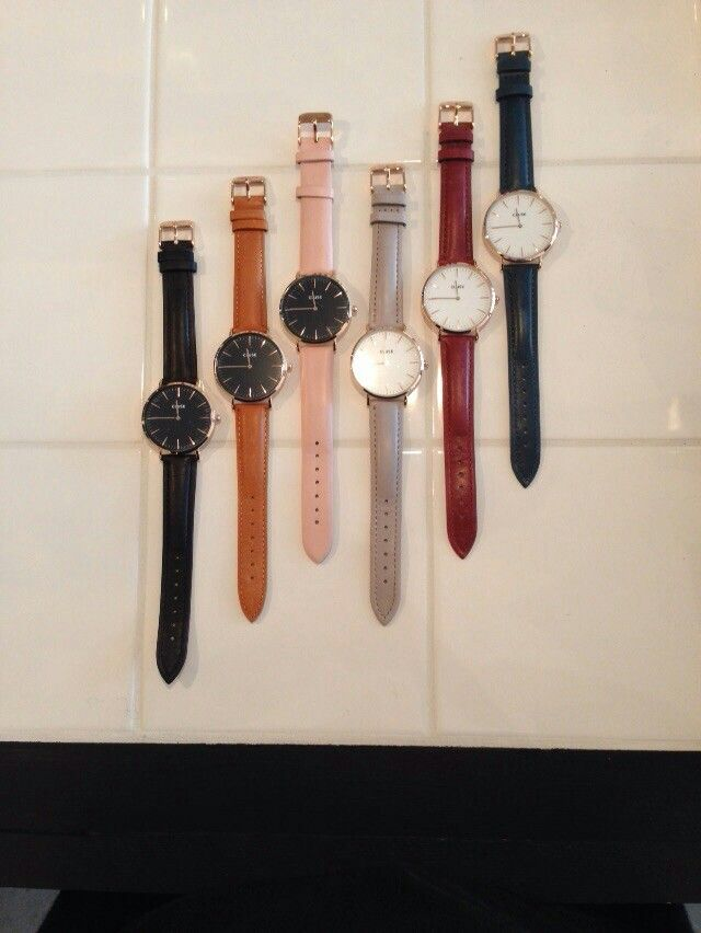 Watches @ Mashed concept store Amsterdam and Haarlem.