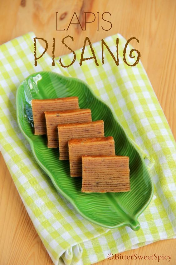 BitterSweetSpicy: Lapis Pisang