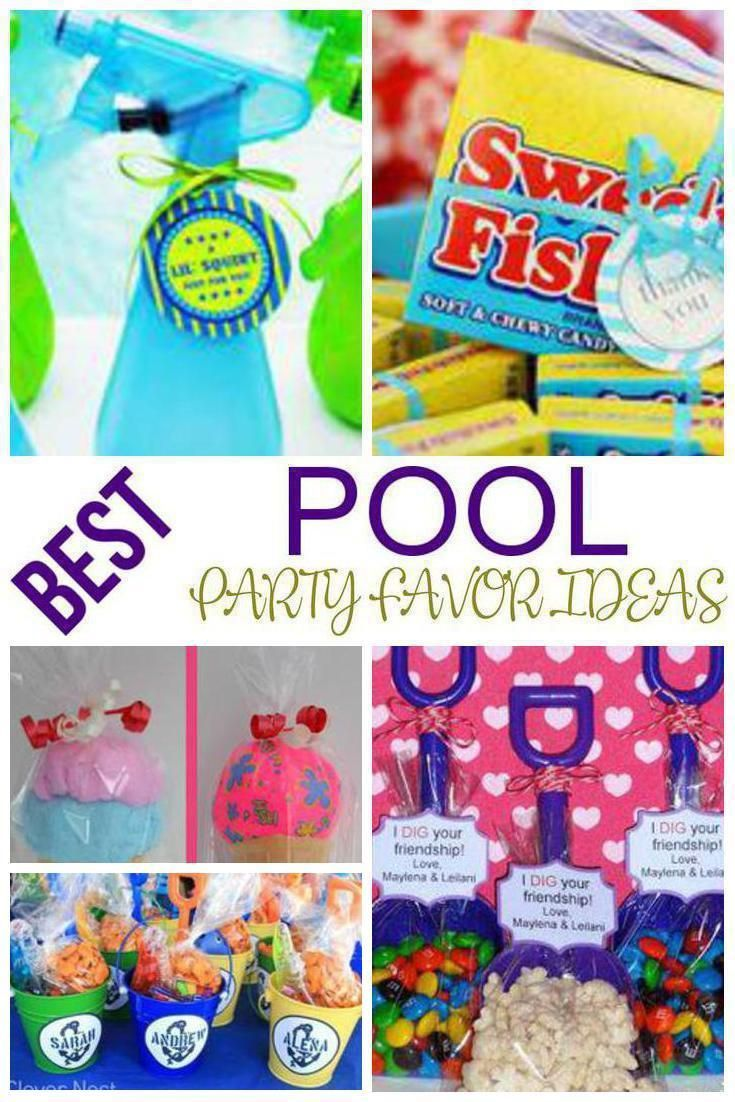 9 Pool Party Favors Amazing And Fun Pool Party Favor Ideas Get The Best Ideas For A Pool Theme Party Fr Pool Party Favors Pool Party Treats Pool Party Themes