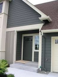 Image result for brown metal roof gray house
