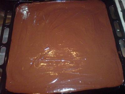 Löst sich am Zungen-Brownie auf   – Bake & Cake