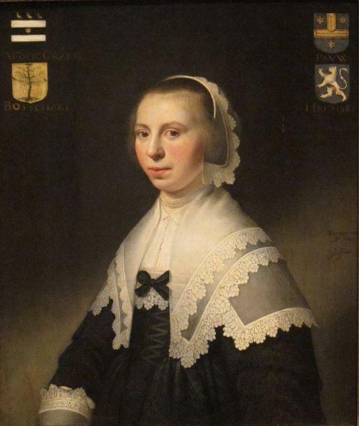 'Portrait of Machteld van der Graeff' by Jacob Willemsz Delff (Dayton Art Institute)