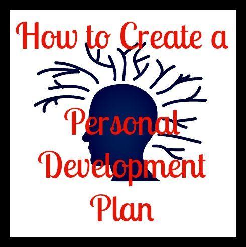 Your Personal Development Plan