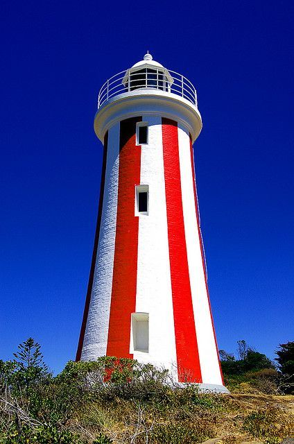 Devonport Lighthouse, Tasmania Australia...have a photo of myself in that little cubby hole...what memories!