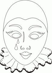 Resultado de imagem para mascaras de carnaval de veneza para pintar