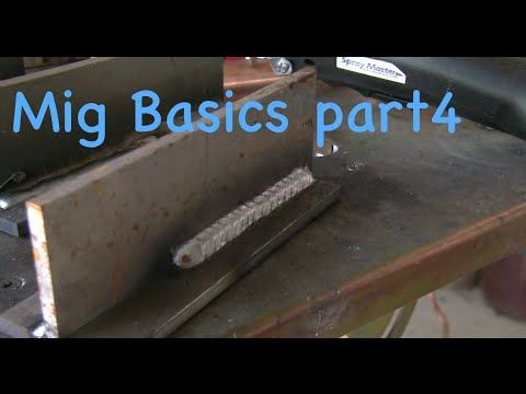 Mig Welding Basics 4 - Avoiding LOF - Ice Bucket Words - YouTube