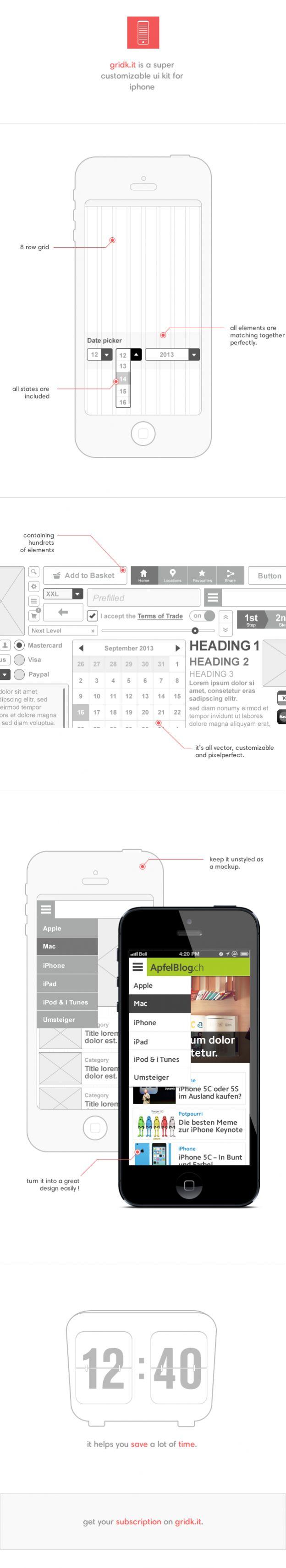 Gridk.it for Mobile Design.