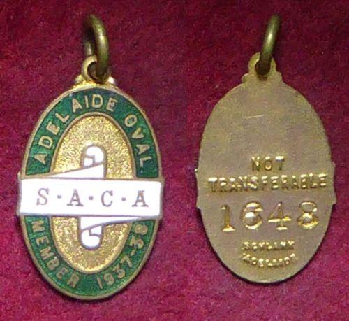 1937-38-South-Australian-Cricket-Association-Members-Badge