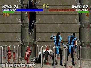 Classic Sub Zero Fatality - Mortal Kombat Trilogy (GIF)