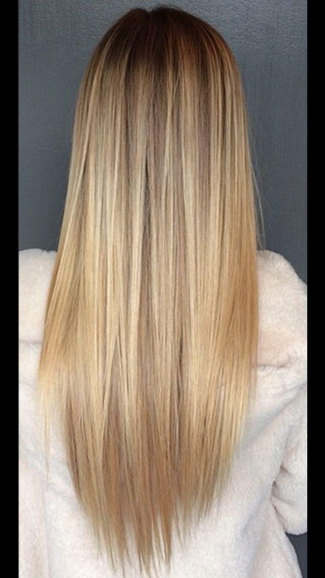 Blonde locks
