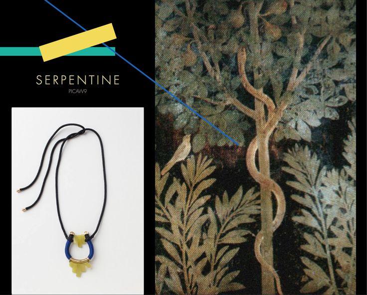 Serpentine Neckpiece, Buy online: www.pichulik.com