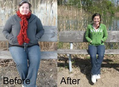 Wow, what an amazing weight loss transformation. So inspiring! Shows you don't have to follow crazy diets or exercise fads to get great results.  | via @SparkPeople #success #motivation #fitness #diet