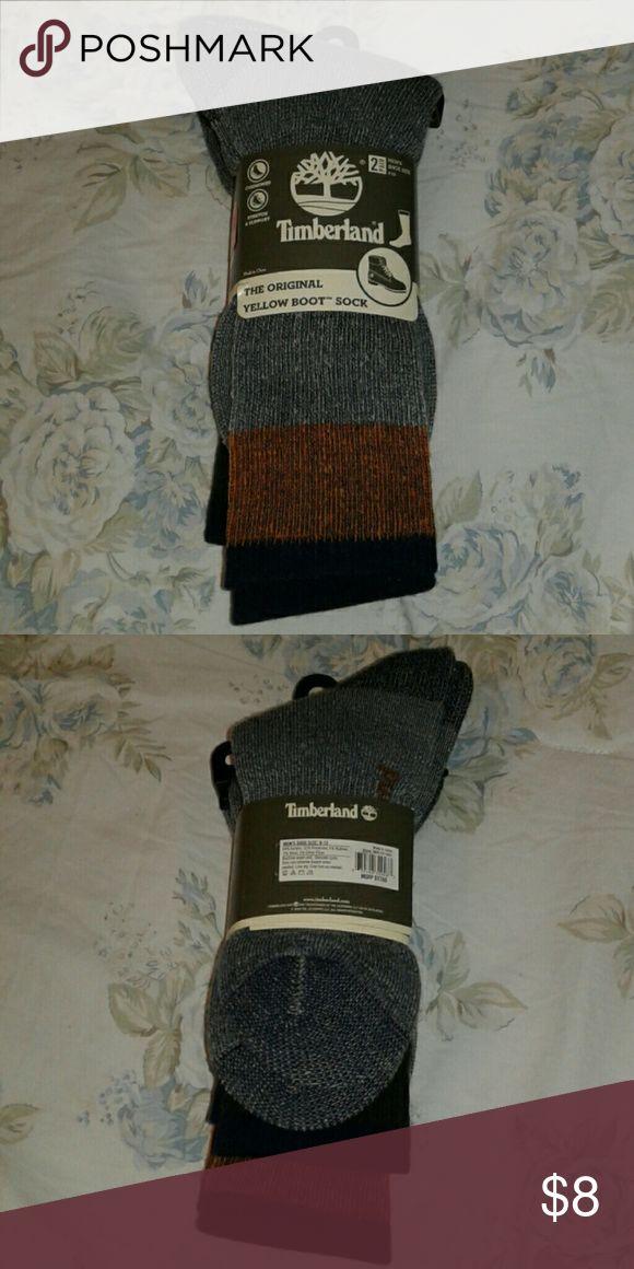 Brand new timberland original boot sock 2 pair Brand new timberland original boot sock 2 pair smoke free pet free home Timberland Underwear & Socks Casual Socks