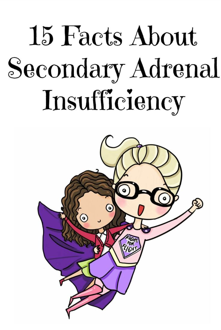 Secondary Adrenal Insufficiency is a serious and life threatening illness where the Pituitary gland in the brain fails to send sufficient amounts of the hormone ACTH to the Adrenal glands resulting in insufficient amounts of Cortisol being released into the blood stream.  Here are 15 facts about Secondary Adrenal Insufficiency to help you better understand…