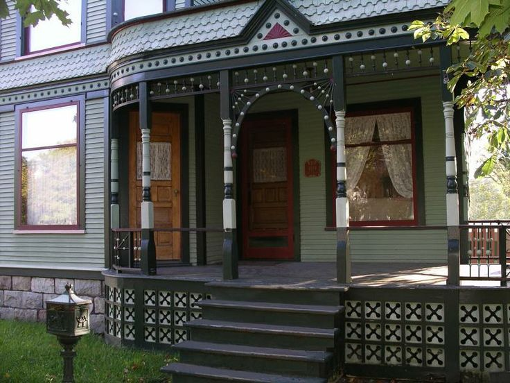 111 best porch ideas images on pinterest decks color for Victorian porch swing plans
