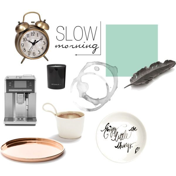 """Slow morning"" by junesdagbok on Polyvore"
