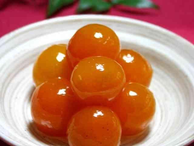 黄金の粒*金柑の甘露煮【おせち】の画像