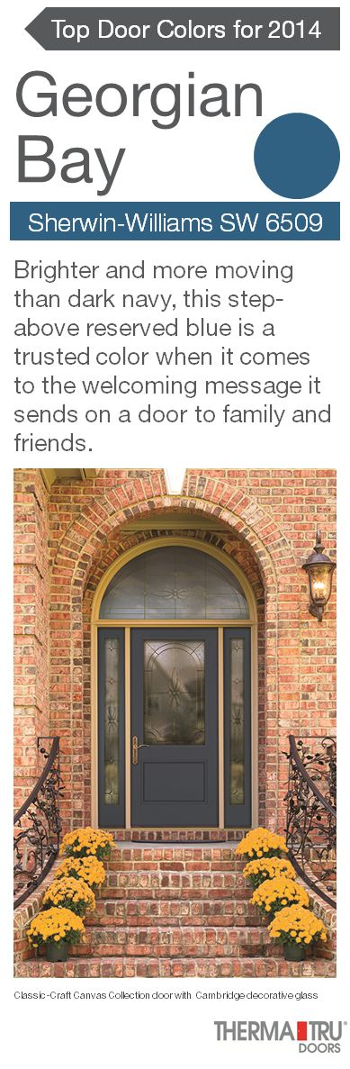 Add curb appeal by painting the front door a color that brings warmth to  the home13 best 2017 Front Door Color Trends images on Pinterest   Front  . Front Door Color Trends 2014. Home Design Ideas