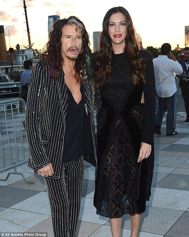 Like father, like daughter: Liv and Steven Tyler bore a striking resemblance as they stepped out to the Givenchy catwalk show as part of NYFW on Friday