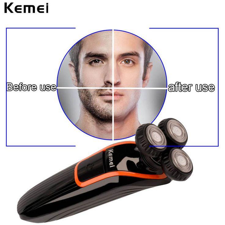 $35.20 (Buy here: https://alitems.com/g/1e8d114494ebda23ff8b16525dc3e8/?i=5&ulp=https%3A%2F%2Fwww.aliexpress.com%2Fitem%2FKemei-Men-s-Razor-Waterproof-3D-floating-Electric-Shaver-Rechargeable-Beard-Shaving-Machine-nose-trimmer-head%2F32721252251.html ) Kemei Men's Razor Waterproof 3D floating Electric Shaver Rechargeable Beard Shaving Machine +nose trimmer head+sideburns cutter for just $35.20