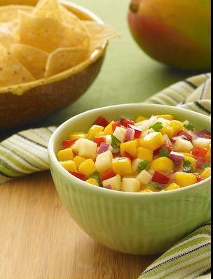 Baja Fresh Mango Salsa www.bajafresh.com or join us www.facebook.com/bajafresh #bajafresh #mexicanfood #salsa