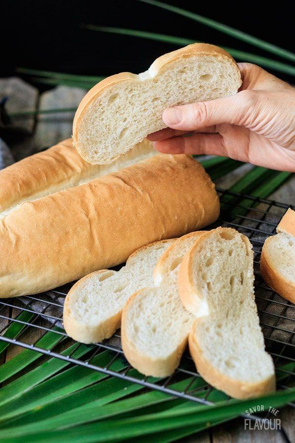 Homemade Cuban Bread Pan Cubano Recipe Cuban Bread Cuban Recipes Recipes