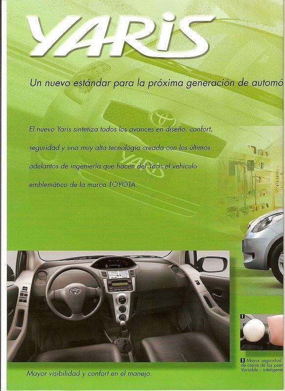 Brochure Toyota Yaris 2007