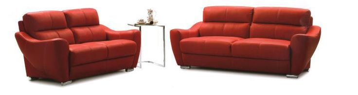 Modern living room sofa  2 3 French Designer genuine leather sofa  2+3 Sectional sofal Set   Love seat sofa 8068